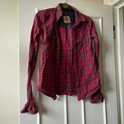 £4 • Buy Ladies Hollister Check Shirt Size XS