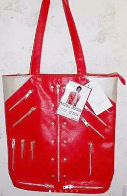 £173.64 • Buy MICHAEL JACKSON  BEAT IT  Jacket Image Design Tote Bag Red Tracking# F/S JP New