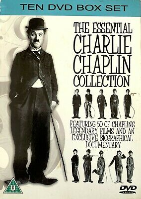 £12.99 • Buy CHARLIE CHAPLIN - The Essential Collection Featuring 50 Films - 10 DVD Box Set