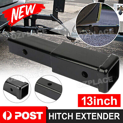 AU26.95 • Buy 13  Inch Heavy Duty Hitch Extender Extension Tow Bar 4WD Car Trailer 2  Receiver