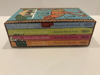 AU24.95 • Buy 4 X Alexander McCall Smith Books The No.1 Ladies Detective Agency Collection Box