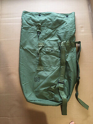 $10.50 • Buy US Military OD Green Army Waterproof Duffle Sea Bag -NOS Grade 1 Bug Out Camping
