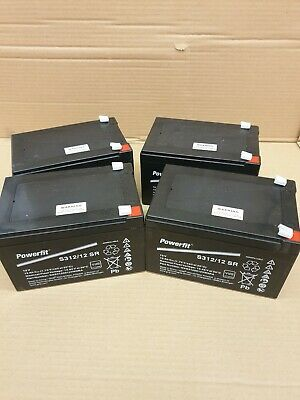 £89.99 • Buy 4 X  12V 14 AH As 12Ah  Rechargeable Battery Electric Bikes Replaces 6-DZM-12 V