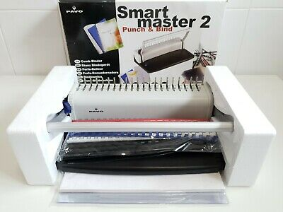 £34.99 • Buy New Pavo Smart Master 2 Punch And Bind Come Binder With Combs, Card And Acetate