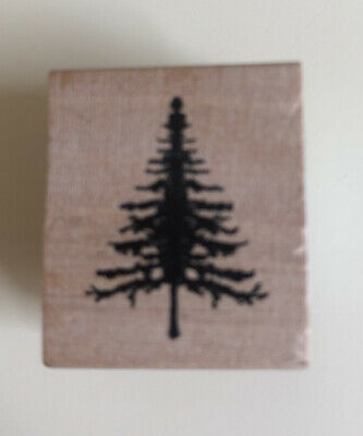 £2.50 • Buy East Of India Wooden Rubber Stamp Tree Brand New
