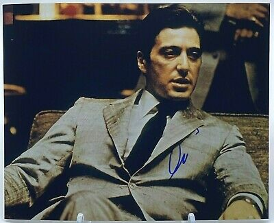 £195 • Buy AL PACINO Signed 10x8 Photo THE GODFATHER  AFTAL OnlineCOA