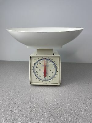 £12.90 • Buy Vintage Hanson 34027-70 Food Prep Scale 10lb X Oz & Kg With Bowl Made In USA