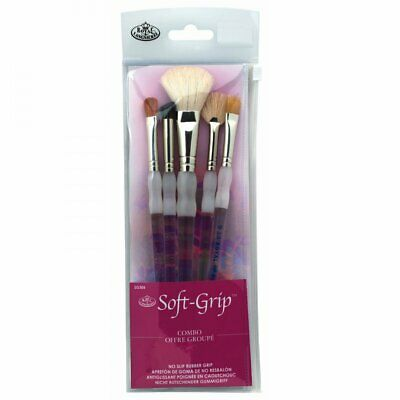 £12.34 • Buy Royal & Langnickel Soft Grip Brushes - Super Value Texture Pack