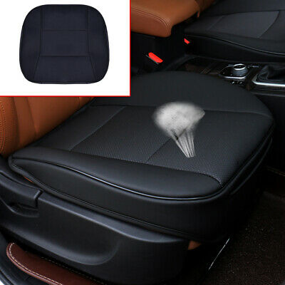 $ CDN27.13 • Buy 1*PU Leather Deluxe Car Cover Seat Protector Cushion Black Front Cover Universal