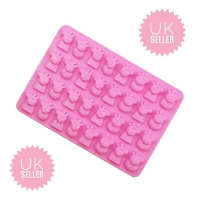 £3.90 • Buy Silicone Mould Peppa Pig Style Chocolate/Jellies/Ice Cube/Wax & Cake Decor 32