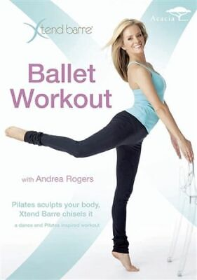 £5.99 • Buy XTend Barre: Ballet Workout DVD With Andrea Rogers Dance