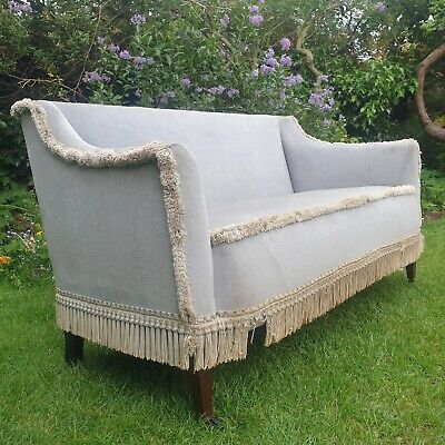 £125 • Buy Antique Edwardian Sofa, Perfect For Bedroom/hall/occasional Use Restoration