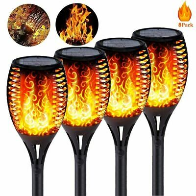 £14.99 • Buy Solar Torch Light With Flickering Flame, Outdoor Solar Flame Effect Lantern 4PCS