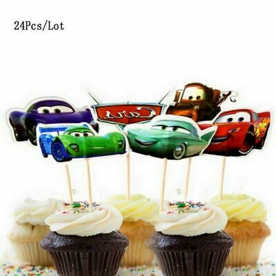 £4.49 • Buy DISNEY CARS CAKE TOPPERS PICKS Birthday Party Lightning McQueen Mater Choose No