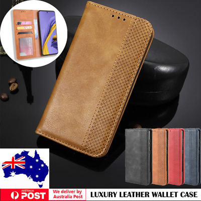 AU11.99 • Buy For Samsung S21/S20 FE Ultra S10 S9 8 Plus Note20 Case Wallet Leather Flip Cover