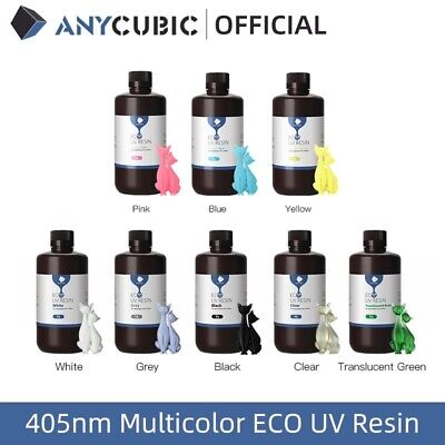 AU40.99 • Buy AU ANYCUBIC UV Plant-based Resin 5 Color Low Odor For LCD 3D Printer Photon Mono