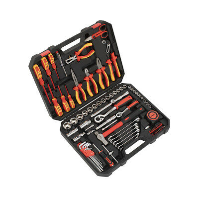 £137.95 • Buy Sealey S01217 Electrician's Tool Kit 90pc