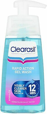 £9.99 • Buy Clearasil Ultra Rapid Action Gel Wash Unblock Pores Fight Spots Clear Skin 150ml