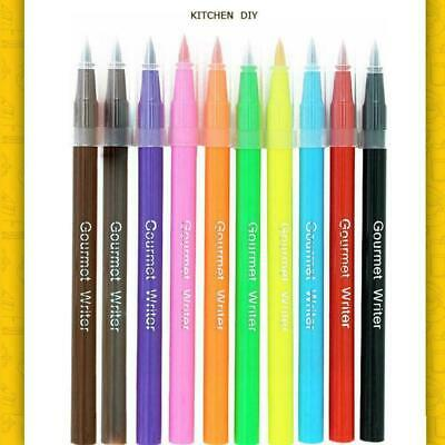 £2.56 • Buy Baking Pen Edible Food Colour Pens Easy Cake Art Writing Icing Draw M8Y4