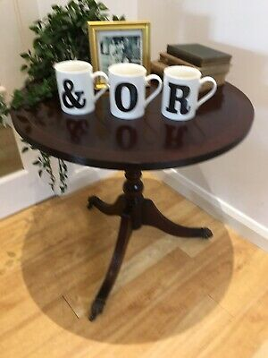£30 • Buy Superb Antique Mahogany Round Coffee Or  Occasional Table