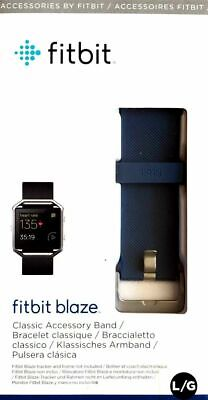 AU29.99 • Buy Fitbit Blaze Fitness Watch Replacement Band - Blue