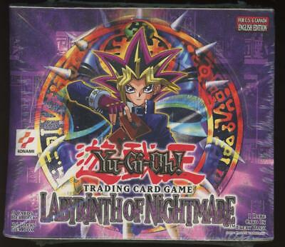 £1090.78 • Buy Yugioh Labyrinth Of Nightmare Factory Sealed Booster Box 36 Packs
