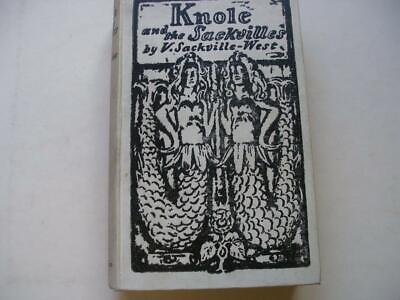 £70 • Buy KNOLE AND THE SACKVILLES By Vita Sackville-West 1923 Illustrated 4A
