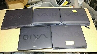 $ CDN124.46 • Buy Lot Of 5 Vintage Sony Vaio Laptops For Parts Repai PCG F160  PCG-953A PCG-F390