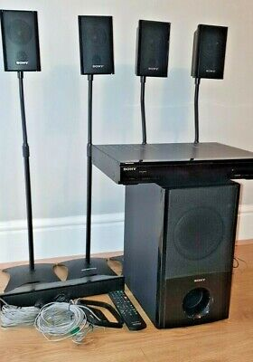 £80 • Buy SONY Home Theatre System HT-SS360 Dolby 5.1 (with Speaker Stands)