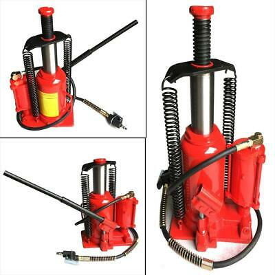 $96.04 • Buy Red Steel 20T Air Hydraulic Bottle Jack Moving Machinery Low Profile Tool