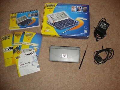 £149.95 • Buy PSION 5MX PDA  Boxed All Accessories  Very Good Condition And Fully Working