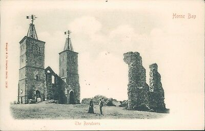 £4.86 • Buy Postcard Kent Herne Bay The Reculvers Very Early Unposted Undivided Back
