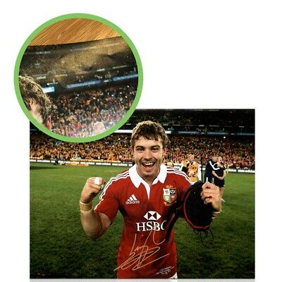 £36.99 • Buy Leigh Halfpenny Signed British Lions Photo: Victory In Australia. Damaged B