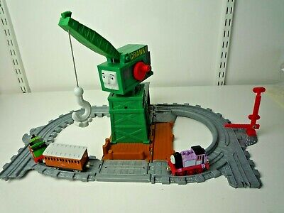 £17.99 • Buy Thomas The Tank Engine Take'n'play Cranky The Crane Playset With 2 Trains