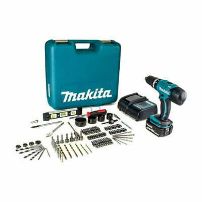 £129.99 • Buy Makita DHP453FX12 18V Cordless Combi Drill With 1x3.0Ah Battery & 101 Piece Acce