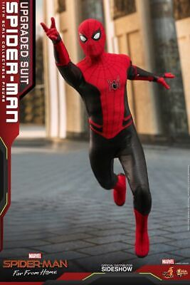$ CDN315.96 • Buy Hot Toys Spider-Man Upgraded Suit 1/6 Scale Figure Far From Home