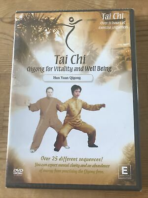 £8.70 • Buy Tai Chi - Qigong For Vitality And Well Being (DVD, 2005) New & Sealed
