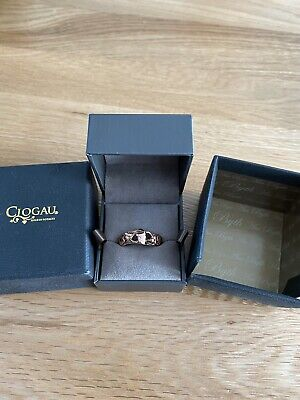 £90 • Buy Clogau Tree Of Life Silver & Rose Gold Ring Size N