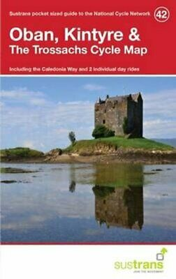 £5.98 • Buy Oban, Kintyre & The Trossachs Cycle Map 42 Including The Caledo... 978191084