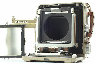 £336.29 • Buy  Exc+5  Wista 45 D 4x5 Large Format Field Film Camera  45D From JAPAN #281