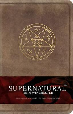 £9.99 • Buy Supernatural: John Winchester Hardcover Ruled Journal By Insight Editions