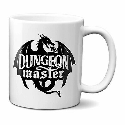 £9.95 • Buy Dungeon Master Mug | Dungeons And Dragons D&D Dragon Master DnD Gift
