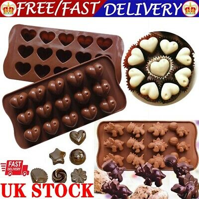 £2.99 • Buy 3D Silicone Cake Chocolate Mold Easter Valentine Mould Wax Melt Candle Jelly Ice