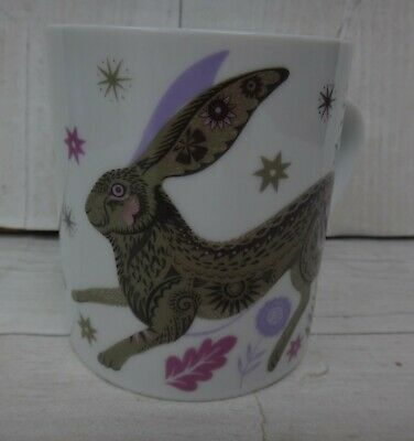 £7.99 • Buy Magpie Pottery Mug Hare By Sarah Young.