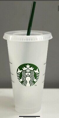 £3.40 • Buy Starbucks Cup 24 Fl Oz Brand New With Lid & And Straw