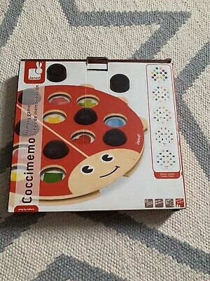 £5 • Buy Coccimemo Janod Wooden Memory Educational Child Game