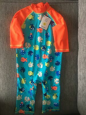 £8.50 • Buy Boots Mino Club Boys All In One Swimsuit 4-5 Years BNWT