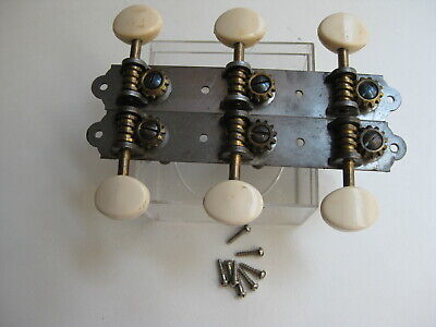 $ CDN50.35 • Buy Vintage 60's Silvertone Stella Harmony Kay Regal Guitar Tuners For Project