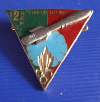 £30 • Buy French Foreign Legion Badge - 2nd R.E.P. - Tireur Milan