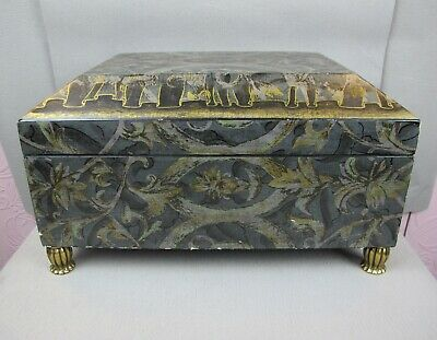 $97.81 • Buy Superb Large Brown Maitland Smith Hinged Sarcophagus BOX / CHEST. 15  X 11